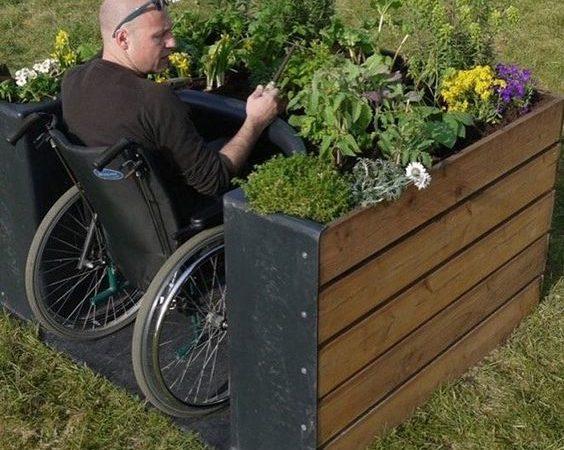 jardim sensorial acessivel